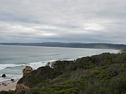 View towards Apollo Bay