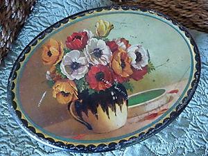 Vintage Floral Tin 033