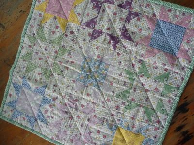Doll quilt from Janelle