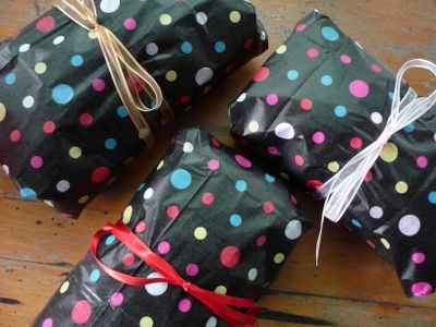 Wrapped PIF gifts
