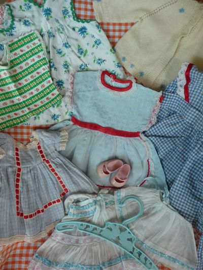 Sweet 50s dolls clothes