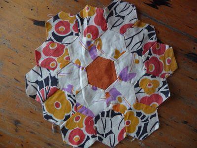 Vintage hexagon block [2]