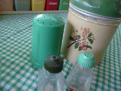 50s Canister & S&P set