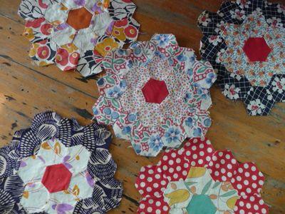 Five Sweet Hexagon Blocks