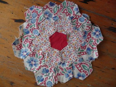 Vintage hexagon block [1]