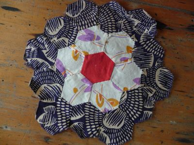 Vintage hexagon block [3]