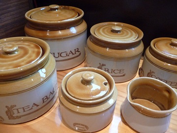 BendigoPottery~Heritage~Canisters