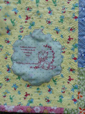 Stitched label