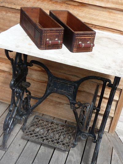 Treadle base & drawers