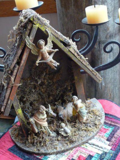Vintage nativity scene 003