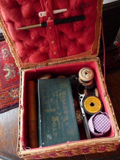 Cane sewing basket 003