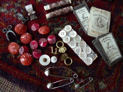 Cane sewing basket 007