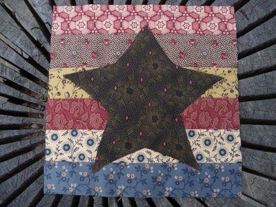 BB Civil War  Block #30 Peterson's Star & Stripes