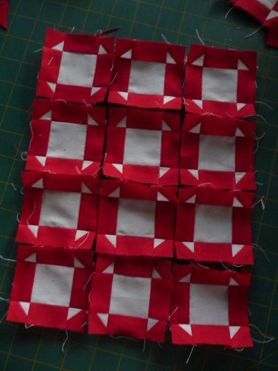 Red & White Quilt (2)