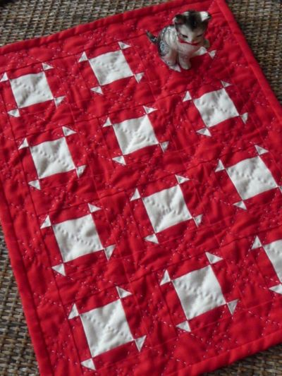 Red&White Quilt