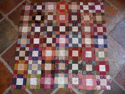 Signature quilt blocks 003