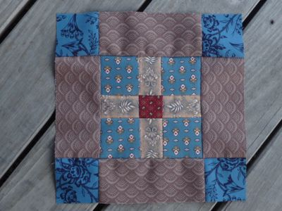 BB Civil War Block#17 Comfort Quilt
