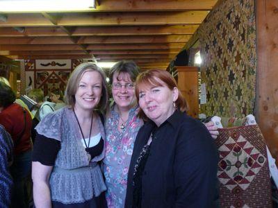 Cath, Gail & me