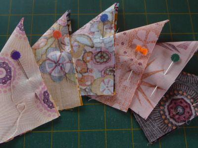 8 sweet little triangles