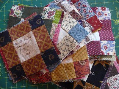 Signature quilt blocks 001
