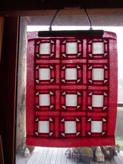 Red & White Quilt (3)