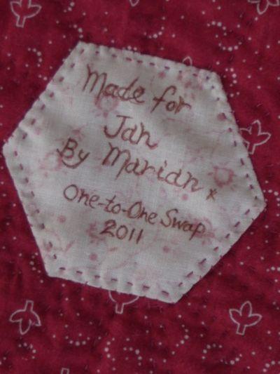 Quilt label (2)