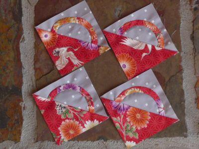Basket Blocks for Meredithe's quilt