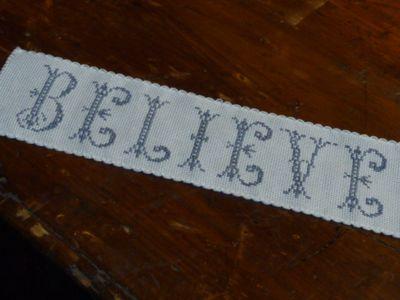 Believe ~ cross stitch (19)