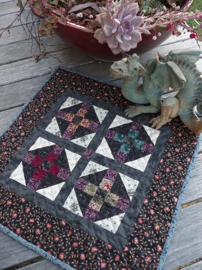 Crosses Mourning quilt