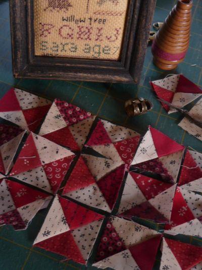 Leftover hourglass blocks