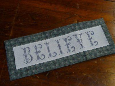Believe ~ cross stitch (23)