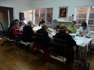 Craft retreat ~ Hepburn Springs (10)