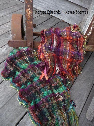~woven scarves~  June12