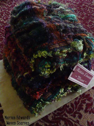 ~woven scarves~  June2012