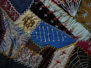 Victorian crazy quilt 1890 (24)