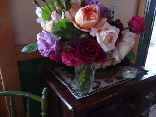 Roses from Robyn's garden
