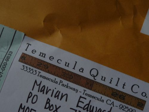 My quilt & goodies from Temecula Quilt Co (1)
