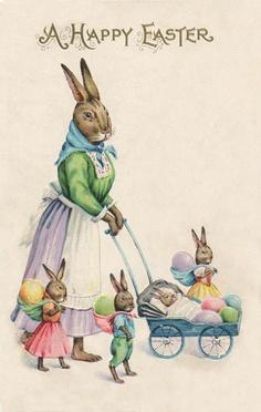 Vintage Easter Blessings