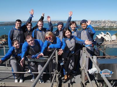 Sydney Harbour Bridge Climb 25Aug2012 (3)
