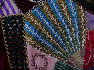 Victorian crazy quilt 1890 (11)
