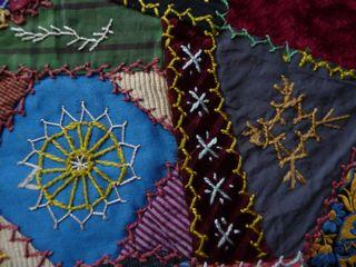 Victorian crazy quilt 1890 (16)