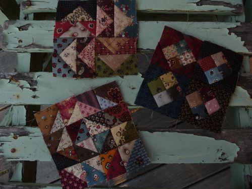 Mystery pocket sew-along Blocks 1, 2 & 3