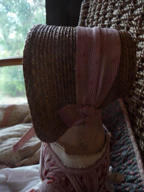 Izabel's sweet little bonnet