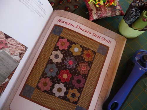 Hexagon Doll Quilt