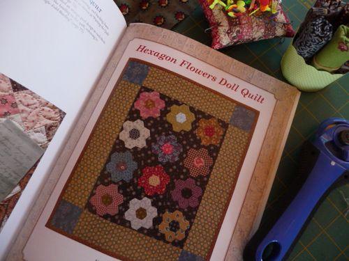 Hexagon Doll Quilt