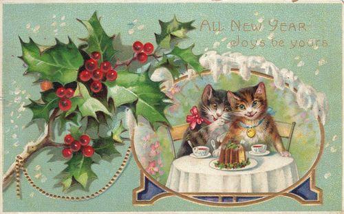VintageNewYears Postcard