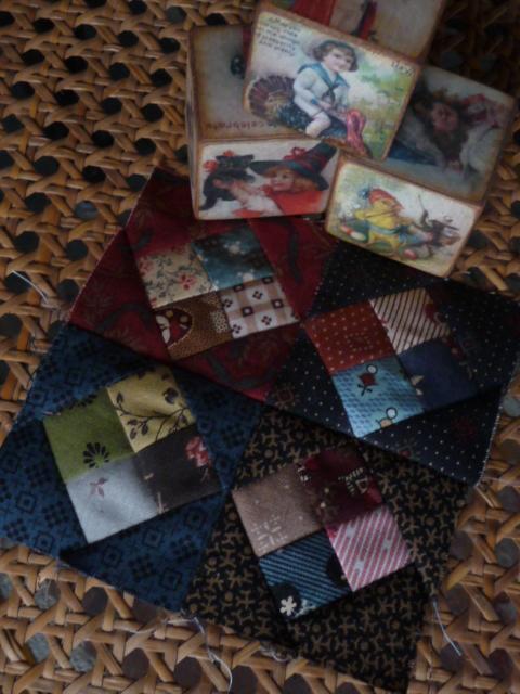 Mystery pocket sew-along Block 3