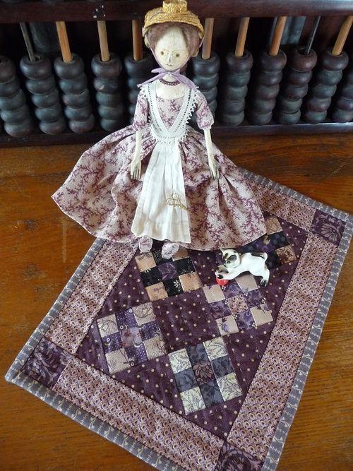 Miss Tansy's tiny quilt