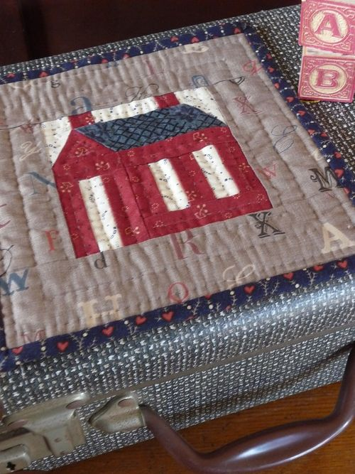 Little Red Schoolhouse Quilt
