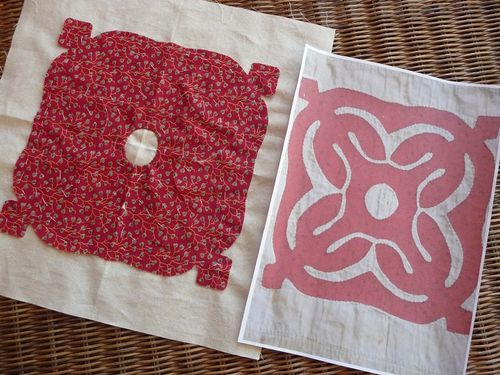 Chester Criswell Quilt Block 1